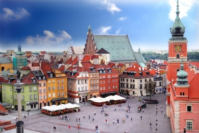 View of #Royal Castle in #Warsaw #Poland