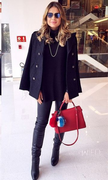 Look de Inverno no Instagram: Thassia Naves