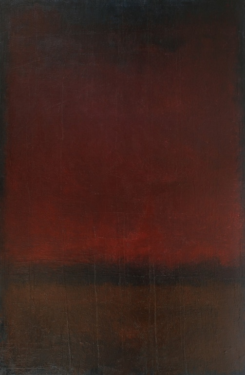 """Koen Lybaert; Oil, 2011, Painting """"Abstract Number 208"""". I like this one"""