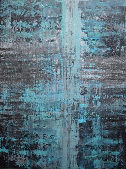 Abstract art by Canadian artist Robert Martin Abstracts. Title Elevate 30x40x0.75in. In acrylic on canvas
