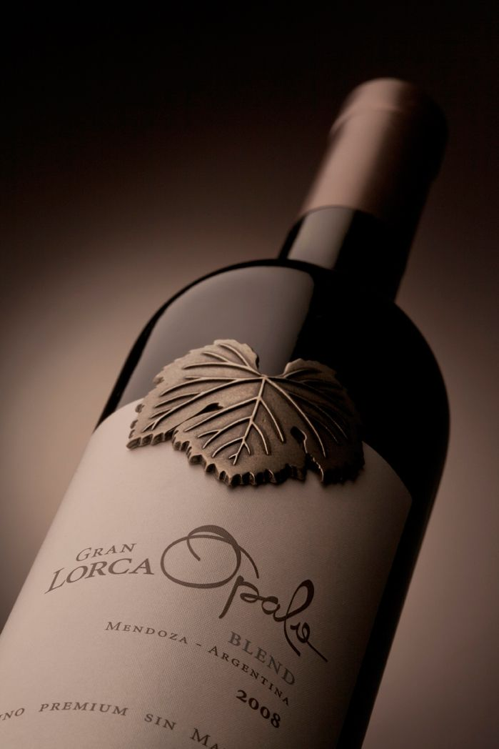 Diseño Etiqueta de Vino / Wine label Design  BODEGA MAURICIO LORCA - OPALO