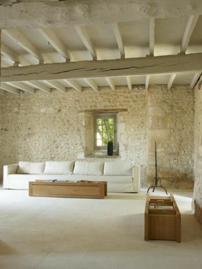 Le mur en pierre apparente en 57 photos  Home Decor  Rustic interiors Home et House design