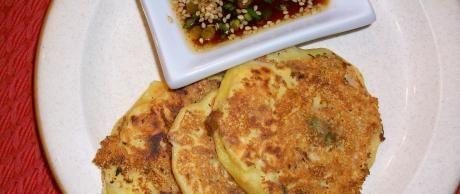 Noku Bindaetteok (Tortitas Coreanas de Alubias Mung)