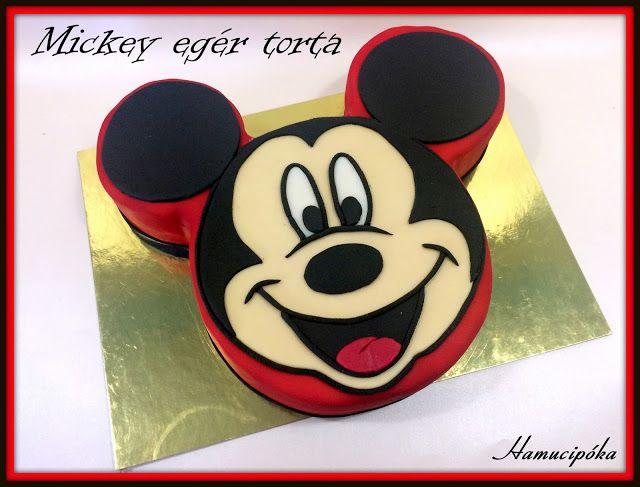 Hamucipóka: Mickey egér - mert kell egy fiúban is