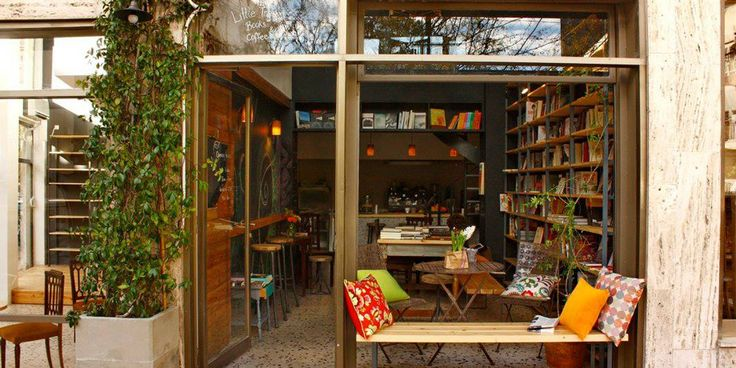 Bookshop-Cafes in Athens