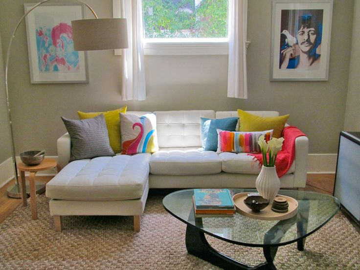 Visual Jill Interior Design: One Love: The IKEA Leather Karlstad Sofa This  Is Leather, But Wanted To Get A Feel For The Shape. With One Chaise I May  Still ...