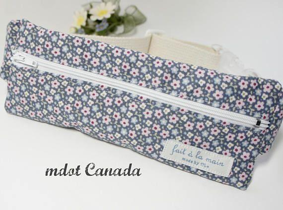 Epipen Case  Epipen Pouch Waist pouch Hip pouch floral