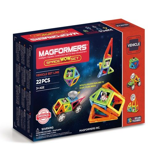 Joc de construcţii magnetic