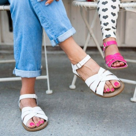 Lark / Salt Water Sandals for mama and daughter