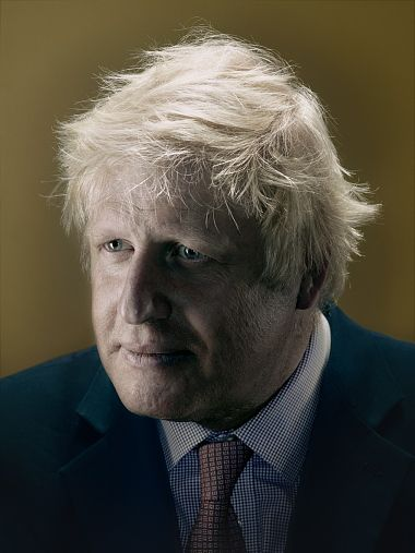 Nadav Kander: how I shot Boris Johnson - Telegraph