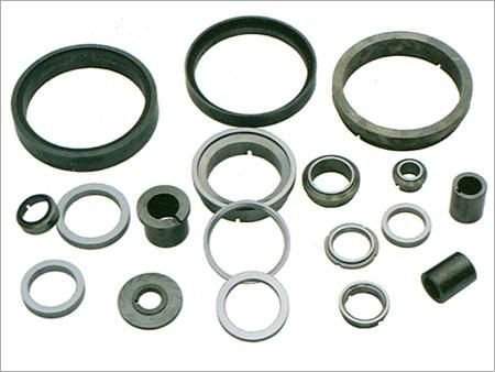 Being erosion resistant, heat resistant the #tungsten #carbide #seals used in mechanical components like valve trim, pump bearings, mechanical shaft seals. it is cheap and resilient.