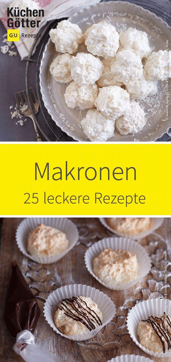 Keine Plätzchen-Bäckerei kommt ohne sie aus: #Makronen. Wir haben einige kreat …