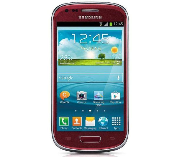 Samsung Galaxy S3 Mini Red