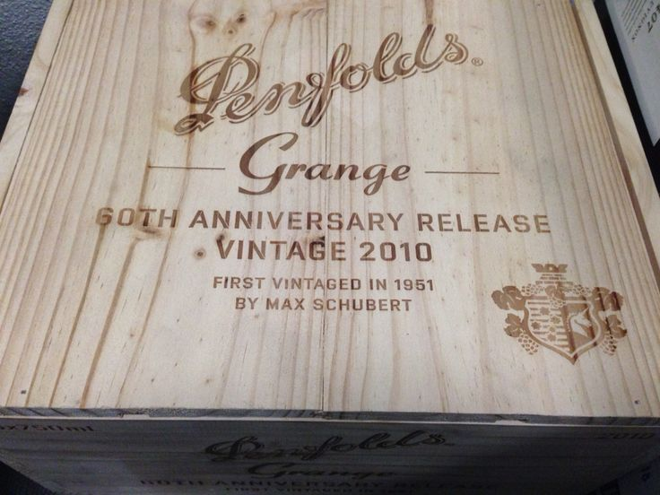 Penfolds Grange 2010, one of Australia's best reds