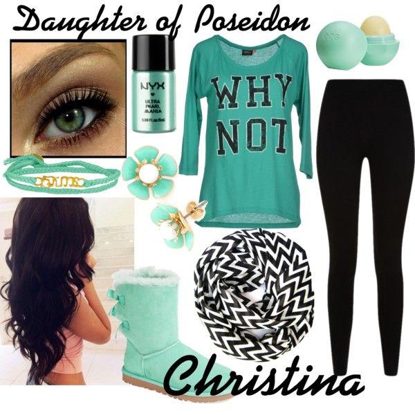Christina daughter of Poseidon