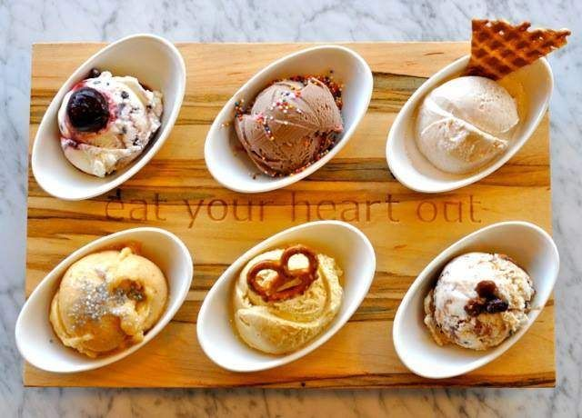 Ice Cream Flight Price: $9 This option at High Point Creamery is a dream come true for anyone who loves ice cream (so, basically everyone)