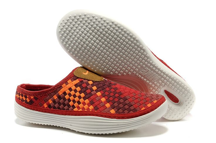 Nike Weave Sandals Mens Red