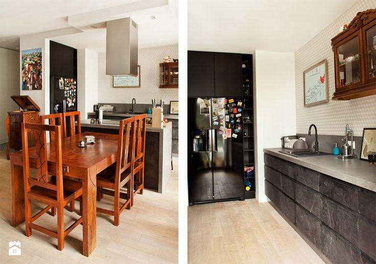 Kuchnia styl Eklektyczny Kuchnia - zdjęcie od Qbik Design