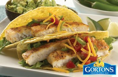 Gluten Free Grilled Tilapia Tacos from Gorton's Recipe by GORTONS_RECIPES via @SparkPeople