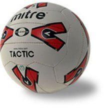 Mitre Tactic The best selling training ball in the UK is now even better. Improved rubber compound for improved strength and durability. Stronger polyester/canvas lining gives improved size and shape retention. Im http://www.comparestoreprices.co.uk/football-equipment/mitre-tactic.asp