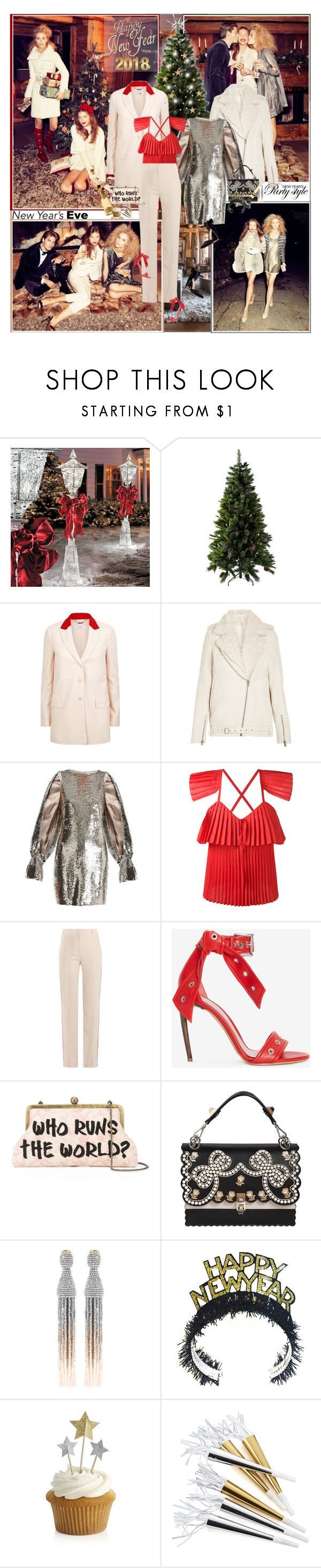 """""""Hold on to the memories, they will hold on to you..."""" by thisiswhoireallyam7 ❤ liked on Polyvore featuring Improvements, Givenchy, IRO, Osman, Rosie Assoulin, Alexander McQueen, Sarah's Bag, Fendi, Oscar de la Renta and Crate and Barrel"""