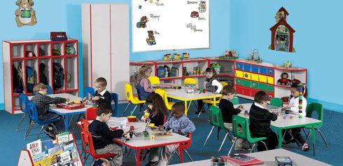 Importance of Preschool Furniture & Preschool Classroom Design