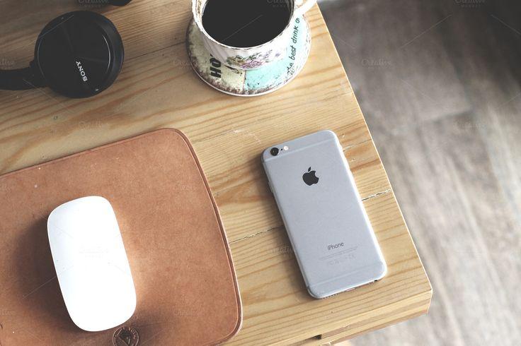 Desk Workspace by Addthisrock Studio on @creativemarket