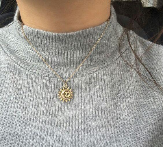 Sonne & Mond Halskette – Styles – #amp #halskette #Mond #Sonne #Styles