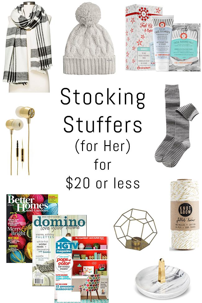 Best 25 Stocking Stuffers For Her Ideas On Pinterest