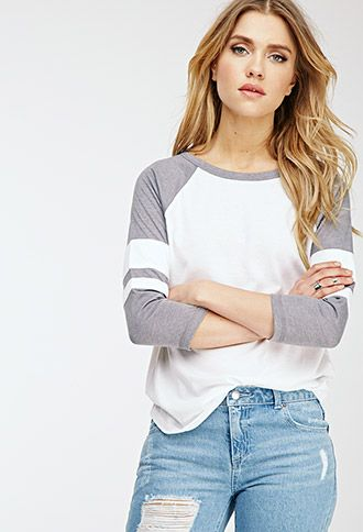Womens Baseball Tee | Forever21.com | Ladies Baseball Tee, Womens Baseball T Shirt