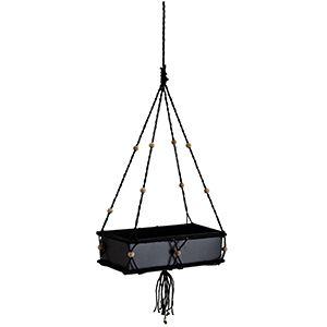 Zwarte plantenbak hanger, verkrijgbaar bij #gigameubel