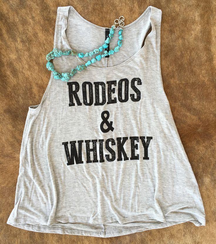 Rodeos & Whiskey tank