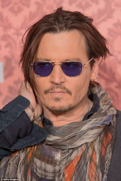 Johnny Depp new look 2015 - Johnny