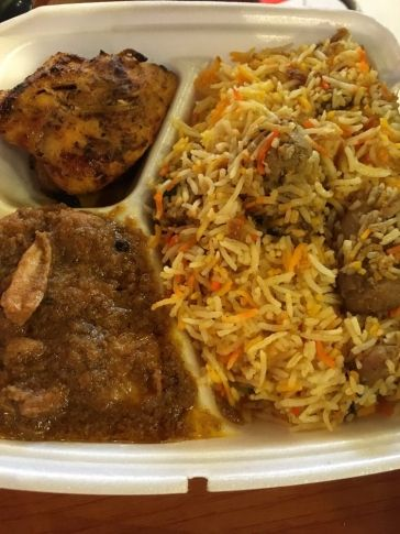Sample a few Pakistani flavors at Tikka Craze Grill in Edmond. At this Oklahoma restaurant, scoop up leftover sauce with fluffy naan bread and devour the chicken meatballs hiding in a sea of biryani mixed rice.