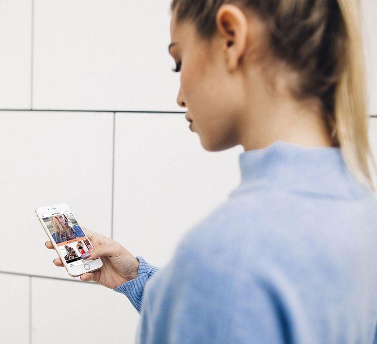 Con la APP y red social 21 Buttons puedes saber exactamente qué lleva puesto la gente con un solo clic. Y, además luego podrás hasta comprar las prendas. Que ves una chica con una falda monísima, pues les das al clic y en nada esa falda colgará de tu armario. #fashion #app #shop #online #shoponline #look #outfit #clothes