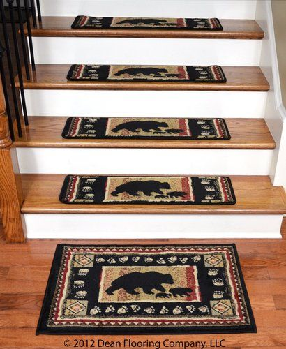 Dean Flooring Company is the place for affordable, attractive non-slip carpet stair treads, runners and rugs.