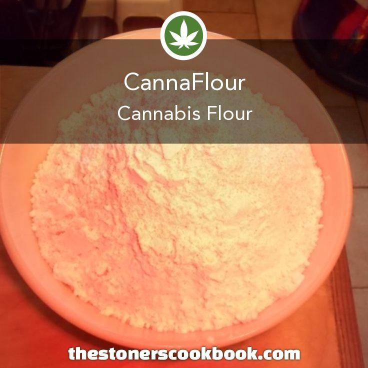 CannaFlour from the The Stoner's Cookbook (http://www.thestonerscookbook.com/recipe/cannaflour)