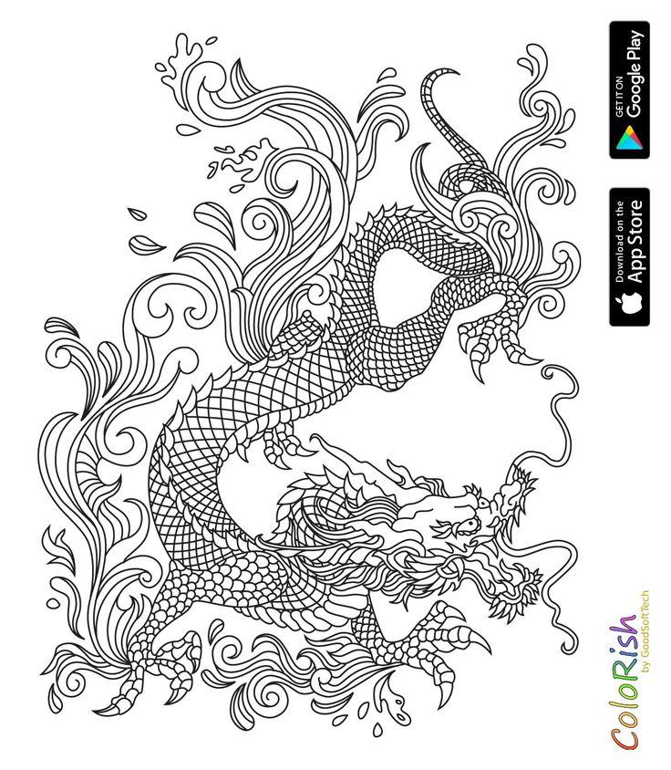 Mejores 215 imágenes de coloring dino, dragon en Pinterest ...