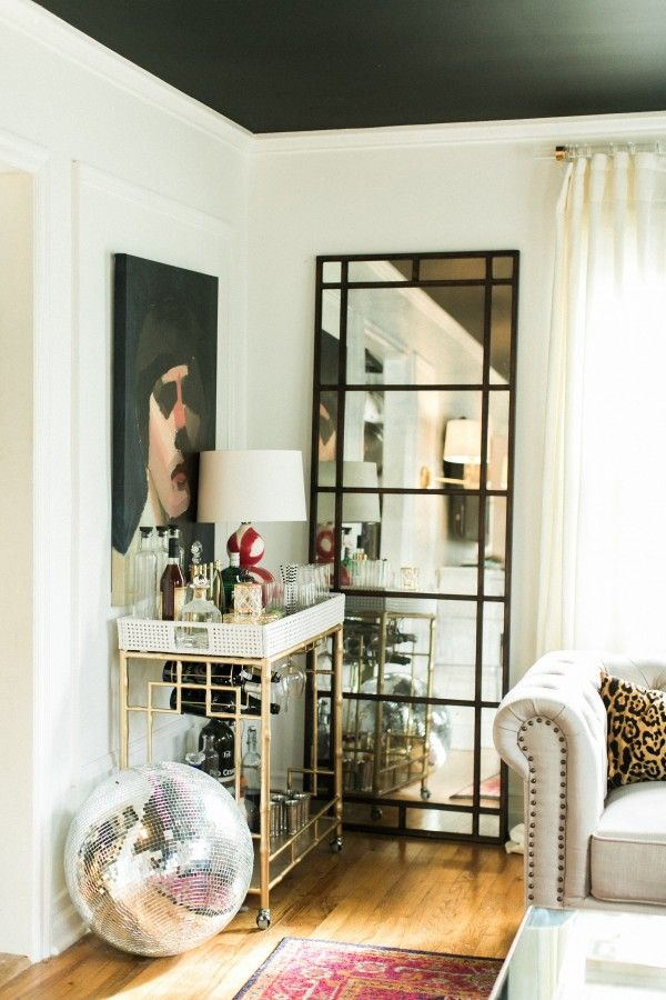 Add some sparkle to your home with a disco ball! | theglitterguide.com