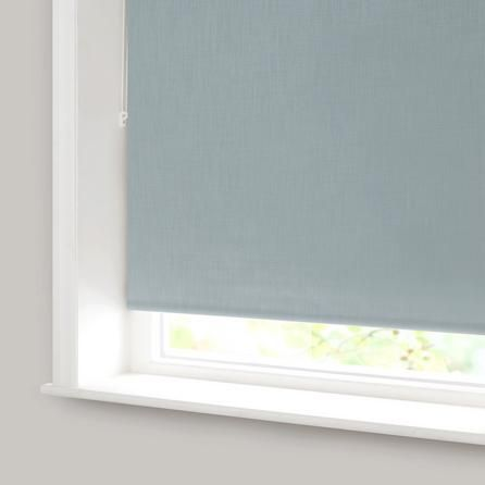 Duck Egg Solar Blackout Roller Blind | Dunelm