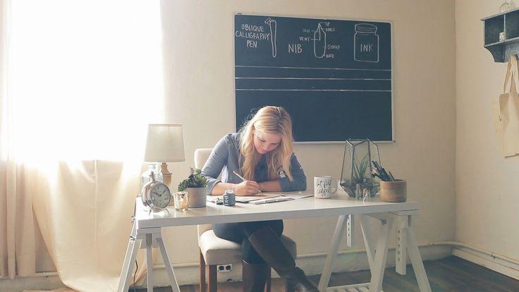 online calligraphy course: Parris Chic Boutique