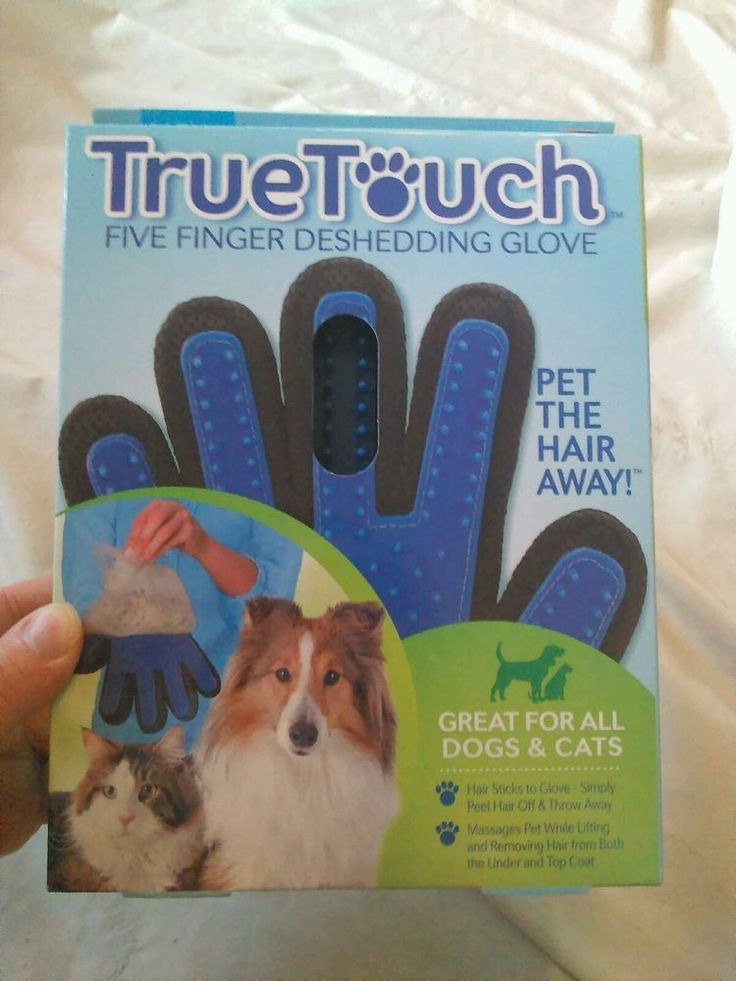 True Touch Five Finger Deshedding Glove Cat Grooming Cat Shedding Removal | Pet Supplies, Cat Supplies, Grooming | eBay!