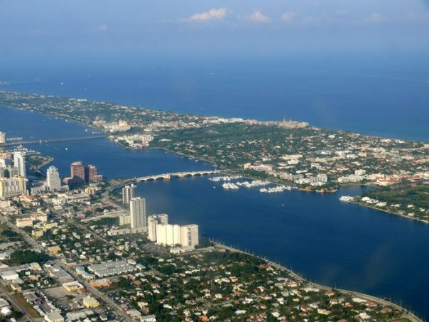 West Palm Beach and Palm Beach