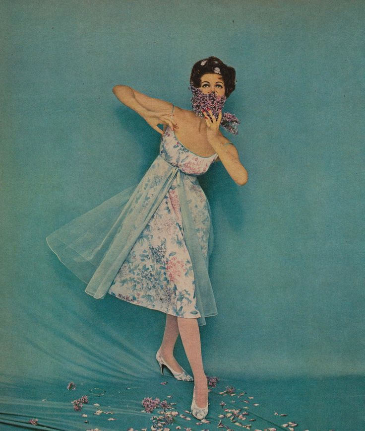 Beautiful Vanity Fair Clothing Advertisements from the 1950s and 1960s