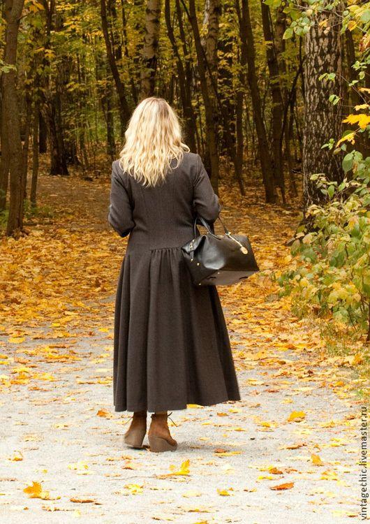 Купить Пальто для Лондона art.E1 - винтаж, винтажный стиль, шерсть, пальто, пальто женское