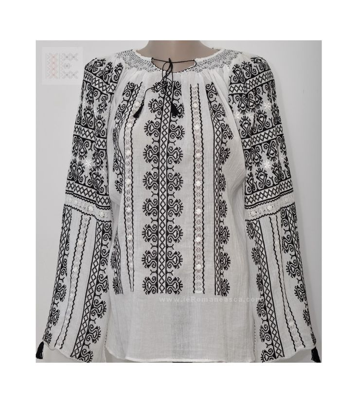 Buy romanian blouses ie - hand embroidered blouses for sale - Romanian folk fashion store for bohemian blouses