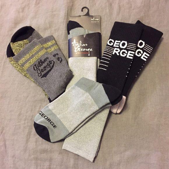 Arthur George Socks 3 brand new pair of Arthur George (Robert Kardashian) socks!! What a deal!! Arthur George Accessories Hosiery & Socks