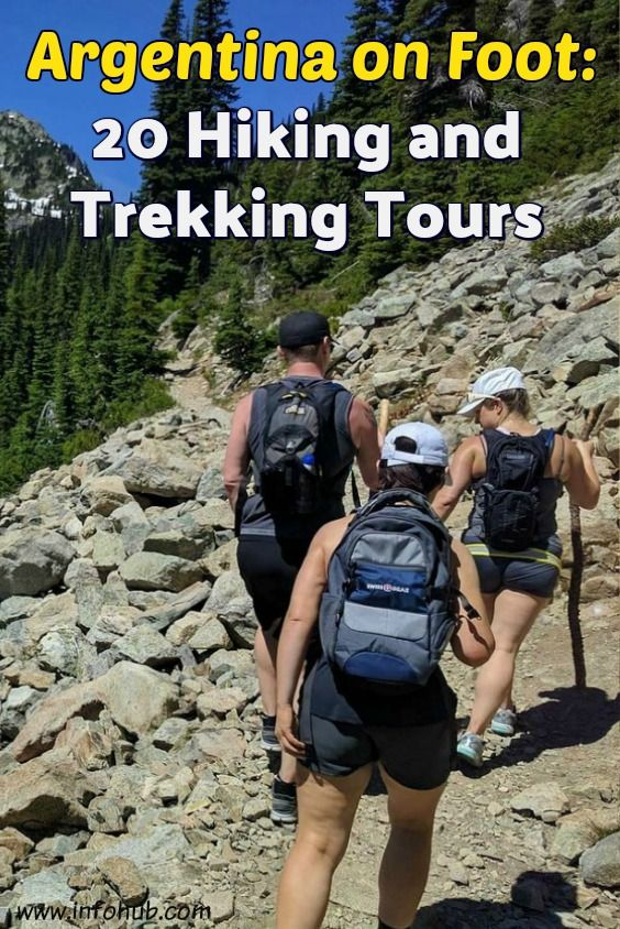 Hiking and Trekking Tours in Argentina. If you'd rather watch it live than on TV, wandering out in the woods than browsing the Internet, then hiking & trekking is something for you to consider! Come prove yourself a real nature lover, not a couch potato, and enjoy some of the Hiking/Trekking tours presented here!