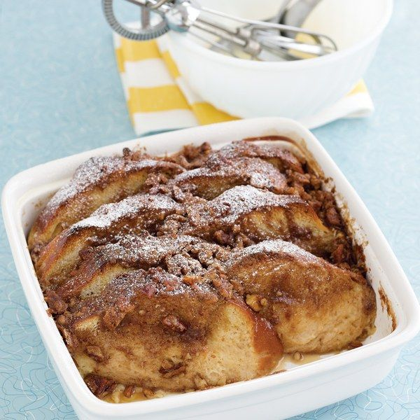 Savory Party Bread Recipe: Praline French Toast Bread Pudding