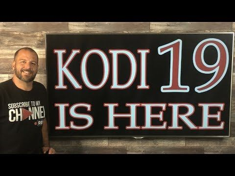 FULLY LOADED KODI 19 WITH THE BEST BUILD OF 2019 YouTube